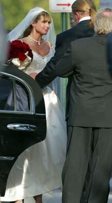 Triple h stephanie wedding